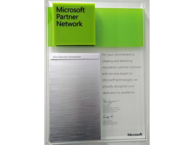 Partenaire Microsoft Silver