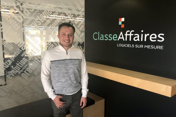 Nous accueillons Diego Solano, programmeur-stagiaire!