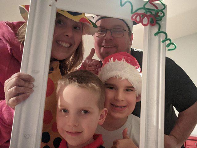 Célestin et sa famille