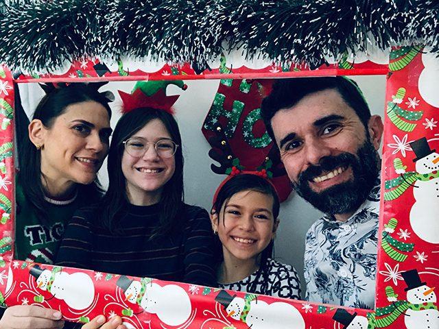 Sanzio et sa famille